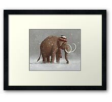 The Ice Age Sucked Framed Print