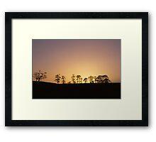 Cramond Sunset Framed Print