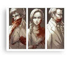 Hannibal - Murder Family Canvas Print
