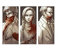 Hannibal - Murder Family Photographic Print
