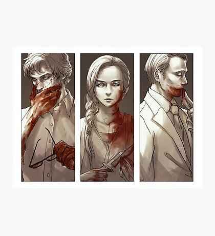 Hannibal - Murder Family Photographic Print