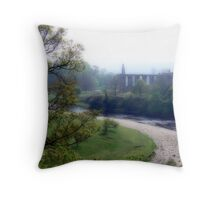 Bolton Abbey Throw Pillow