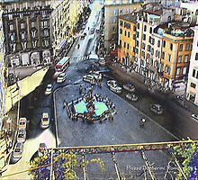Una Piazza di Roma by Lior Goldenberg