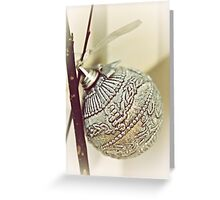 Silver Ball Greeting Card