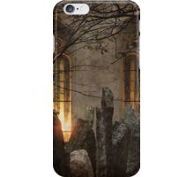 The Old Jewish Cemetery of Prague iPhone Case/Skin