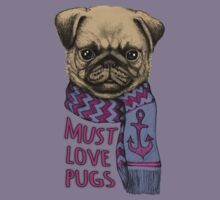 Must Love Pugs Kids Clothes