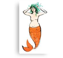 Mastectomy Mermaid Canvas Print