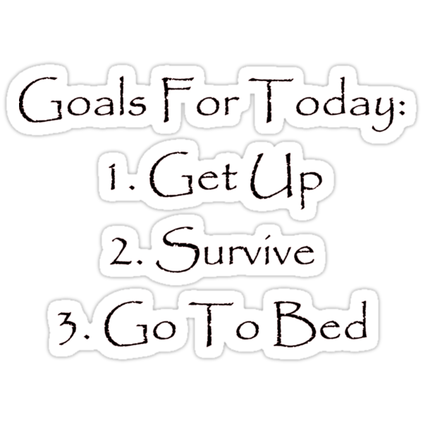 Goals for today by Jay Ryser