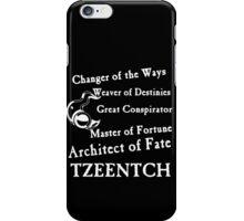 Tzeentch, Architect of Fate iPhone Case/Skin
