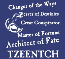Tzeentch, Architect of Fate by Huertense