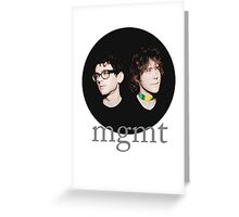 MGMT Bubble Greeting Card