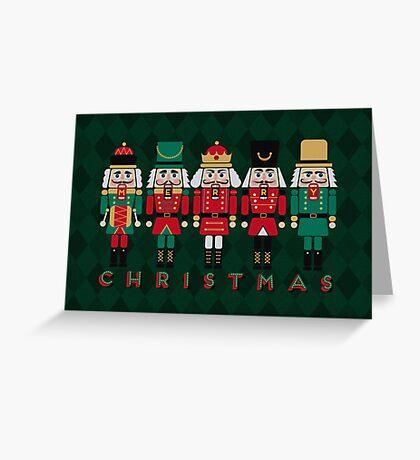 The Christmas Nutcrackers Greeting Card