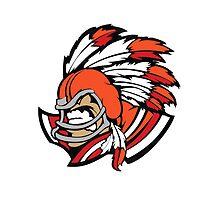 American indian man kentucky sport by Artvik