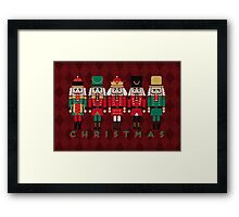 The Christmas Nutcrackers Framed Print