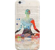 Atlantida Yoga Book iPhone Case/Skin