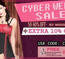Cyber week sale at spicylingerie by stacymolugo