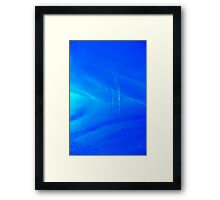 dripping wet Framed Print