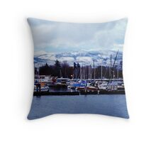Dawn Breaks Throw Pillow