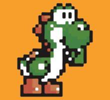 Yoshi in 8 bits by TrezzeDesigns