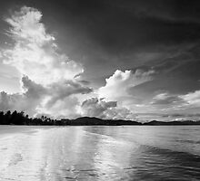 Storm Clouds, Langkawi. by Justin Foulkes