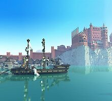 Minecraft game of thrones by FeverDessign