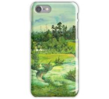 green valley iPhone Case/Skin