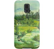 green valley Samsung Galaxy Case/Skin