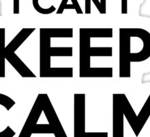 I cant keep calm Im a PERSONS Sticker