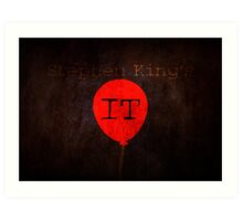 Stephen King's IT Art Print