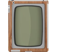 Old Wooden TV iPad Case/Skin