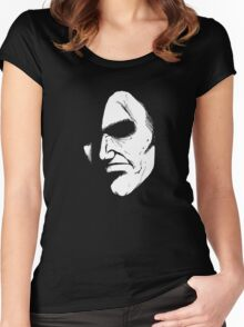 Face in Shadow Women's Fitted Scoop T-Shirt