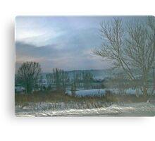 Cold Winter Morning Metal Print