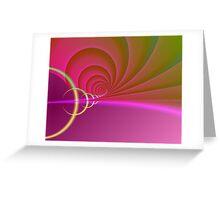 Hypnotized Greeting Card