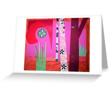 Jungle Temple Greeting Card