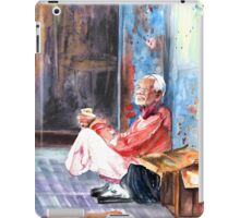 Old And Lonely In Morocco 01 iPad Case/Skin