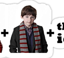 Emma + Henry + the two idiots Sticker