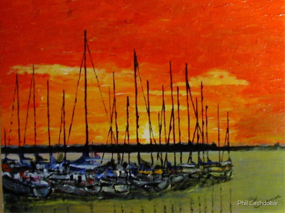 Sunrise,Port Sanilac by Phil Cashdollar
