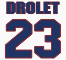 National Hockey player Rene Drolet jersey 23 by imsport