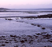 Cold Sunset at Cramond by Tim Haynes