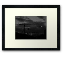 Light to the Clyde Framed Print