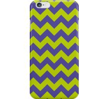 Ziggy Zag Purple and Green iPhone Case/Skin