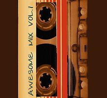 Awesome Mix Vol.1 iPhone Case. by ImageMonkey