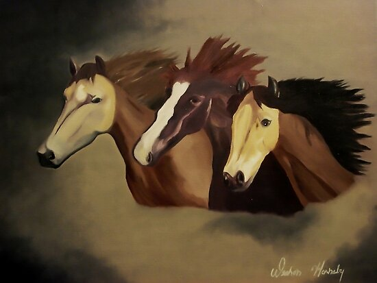 Stud Trio by Weshon  Hornsby