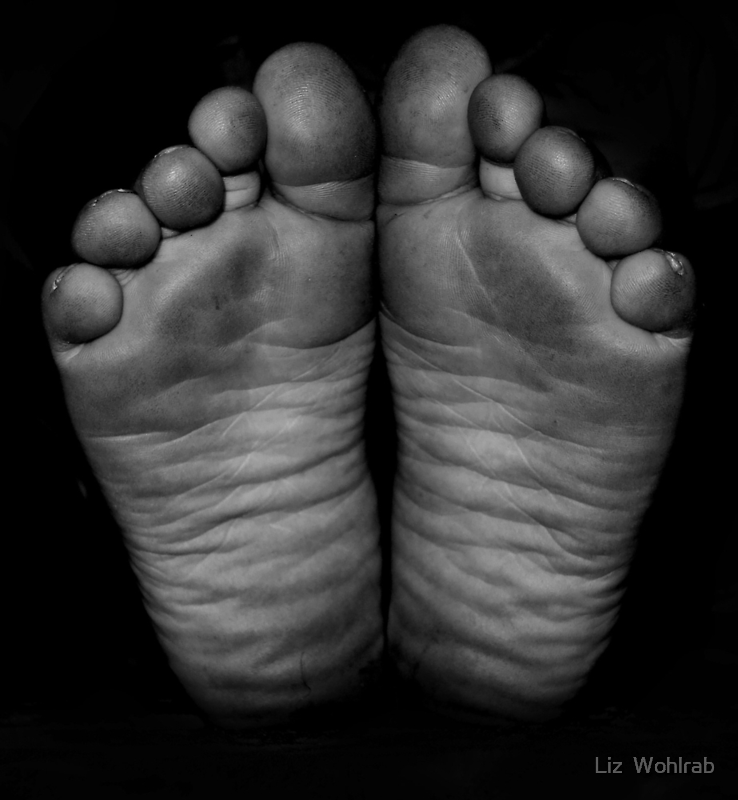 Dirty Feet by Liz  Wohlrab