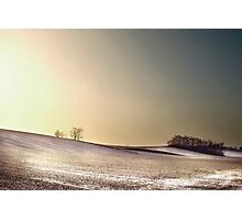 winter landscape Photographic Print