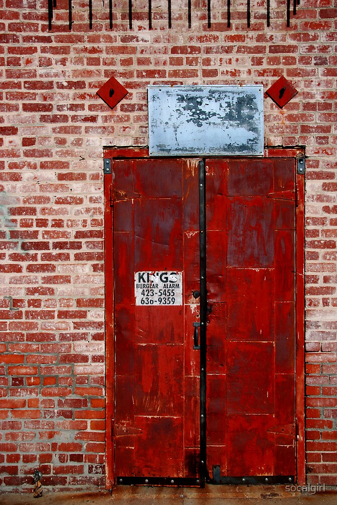Alley Door by socalgirl