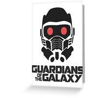 guardians of the galaxy Greeting Card