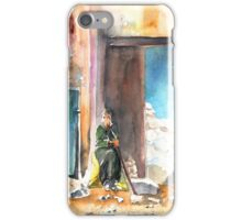 Old And Lonely In Morocco 02 iPhone Case/Skin