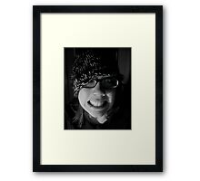 Crazed Indifference Framed Print