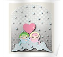 Bubble Babies Poster